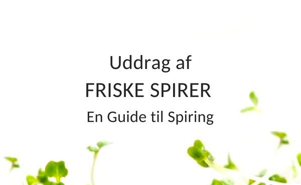 Uddrag af FRISKE SPIRER bogen