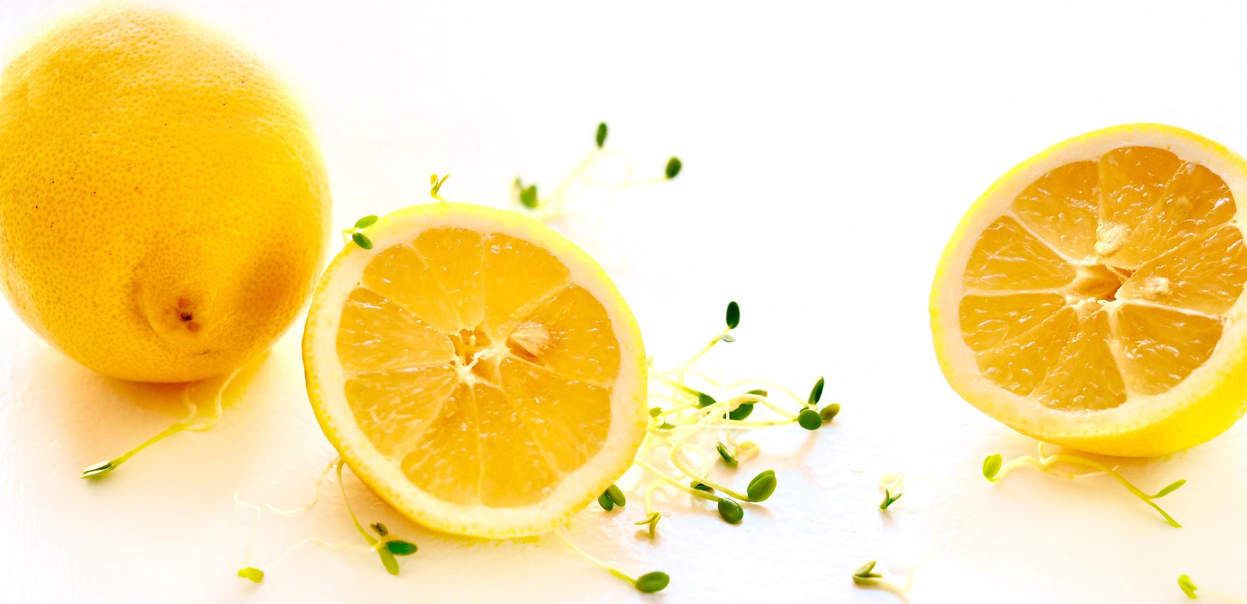 citronbad til spirer